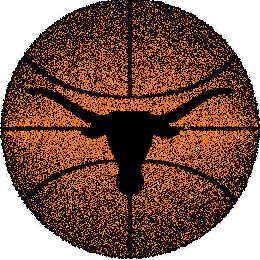 Logo Rugs Texas University Texas Basketball 4 ft TXBB2