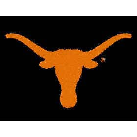 Logo Rugs Texas University Texas Entry Mat 2 x 2 TXEM1