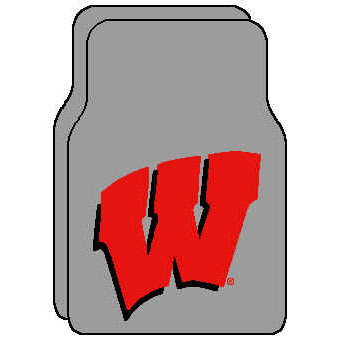 Logo Rugs Wisconsin University Wisconsin Car Mat WIFM1