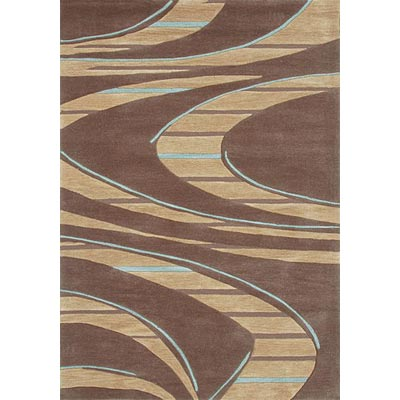 Loloi Rugs Abacus 2 x 8 Brown Blue AC-03