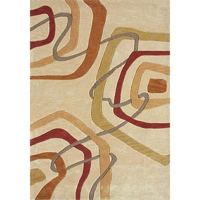 Loloi Rugs Abacus 4 x 6 Light Gold Multi AC-06