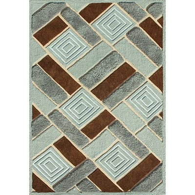 Loloi Rugs Elsby 8 x 10 (Dropped) Blue Dark Brown ES-02