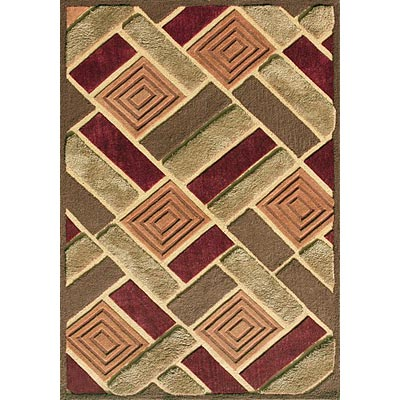 Loloi Rugs Elsby 8 x 10 (Dropped) Brown Multi ES-02