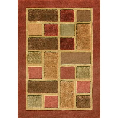 Loloi Rugs Elsby 8 x 10 (Dropped) Rust Multi ES-01