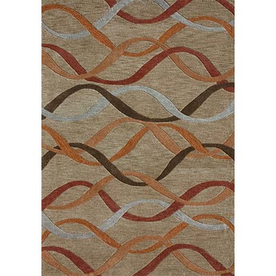 Loloi Rugs Tribeca 4 x 6 Light Gold TB-02
