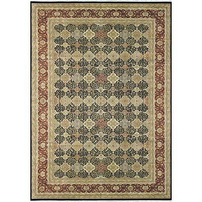 Loloi Rugs Kingsford 9 x 12 Black Red KI-01