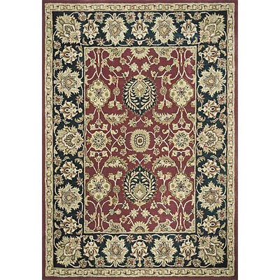 Loloi Rugs Maple 4 x 6 Burgundy Black MP-15