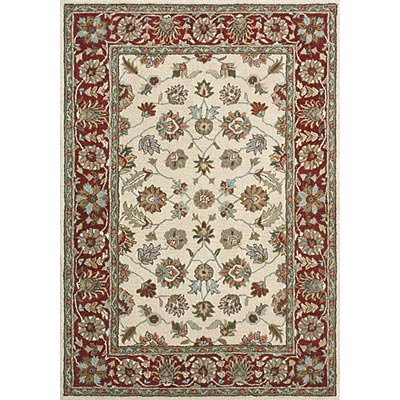 Loloi Rugs Prestonwood 2 x 8 Beige Red PW-07