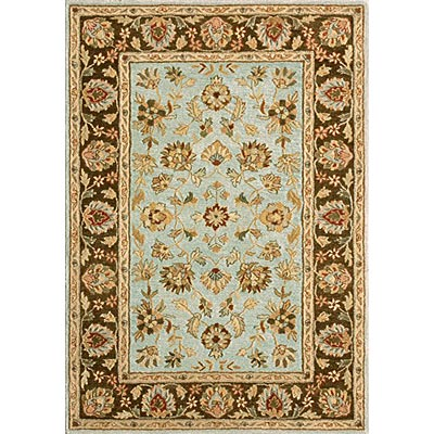 Loloi Rugs Prestonwood 2 x 8 Blue Chocolate PW-01