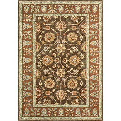 Loloi Rugs Prestonwood 8 x 11 (Discontinued) Chocolate Rust PW-04