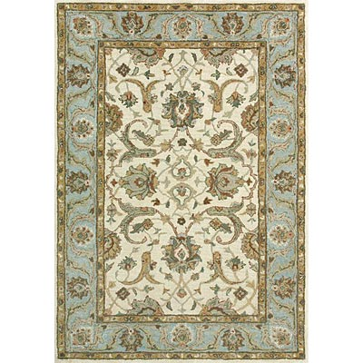 Loloi Rugs Prestonwood 8 x 11 (Discontinued) Ivory Blue PW-03