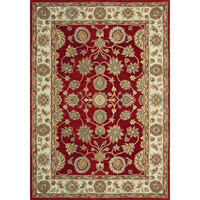 Loloi Rugs Prestonwood 8 x 11 (Discontinued) Red Beige PW-06