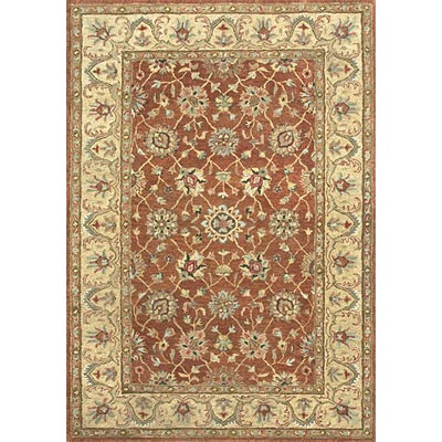 Loloi Rugs Prestonwood 8 x 11 (Discontinued) Rust Light Gold PW-09