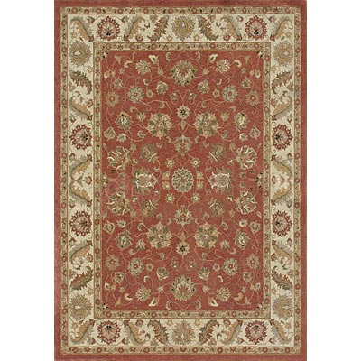 Loloi Rugs Rosewood 9 x 13 Dusty Red Ivory RO-05
