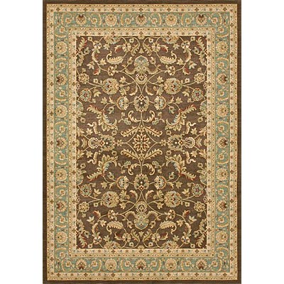 Loloi Rugs Stanley 8 Round Brown Blue ST-11