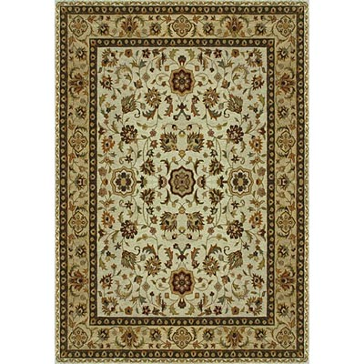 Loloi Rugs Yorkshire 8 Round Ivory Light Gold YK-02