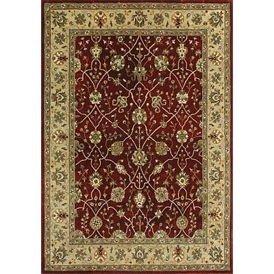 Loloi Rugs Yorkshire 8 Round Red Light Gold YK-04
