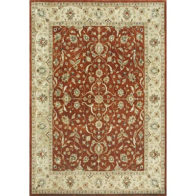 Loloi Rugs Yorkshire 8 Round Rust Light Gold YK-03