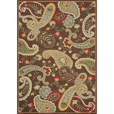 Loloi Rugs Chelsy 5 x 8 Chocolate Green CH-11
