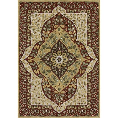 Loloi Rugs Cleburn 4 x 6 Ivory Red CN-01