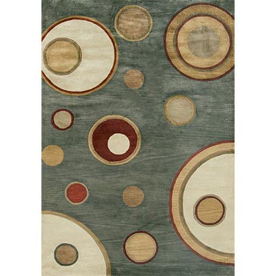 Loloi Rugs Crescent 8 x 11 Blue Ivory CR-14