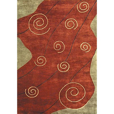 Loloi Rugs Crescent 5 x 8 Red CR-01