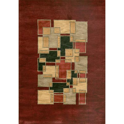 Loloi Rugs Crescent 5 x 8 Red Multi CR-08
