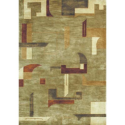 Loloi Rugs Crescent 5 x 8 Sage Multi CR-07