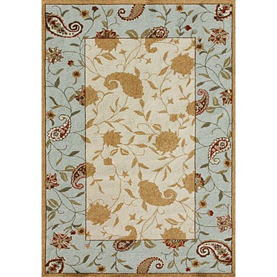 Loloi Rugs In-Dora 5 x 8 Beige Blue IN-01
