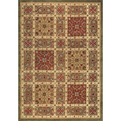Loloi Rugs Summerhill 5 x 8 (Drop) Olive Red SU-01