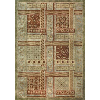 Loloi Rugs Summerhill 8 x 11 (Drop) Rust Olive SU-09