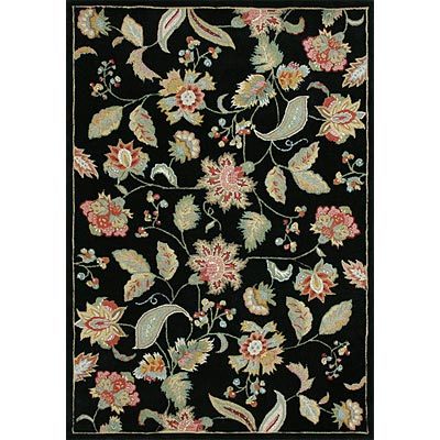 Loloi Rugs Sunrise 8 x 10 (Drop) Black SR-02
