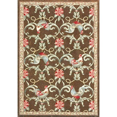 Loloi Rugs Sunrise 5 x 8 (Drop) Brown SR-01