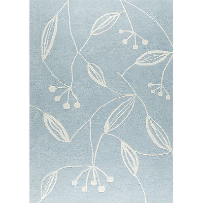 MAT The Basics Flora 7 x 10 Blue Blue