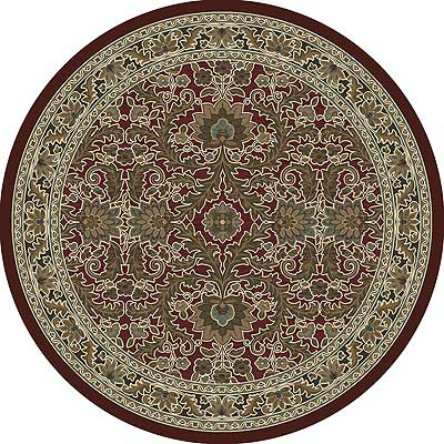 Milliken Akhisar 8 Round Cranberry Antique 7029/296/10800