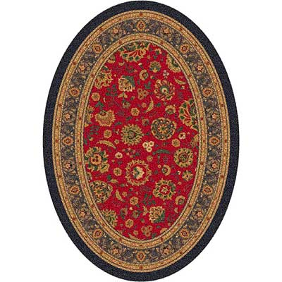 Milliken Aydin 4 x 5 Oval Currant Red 7420/293/00224