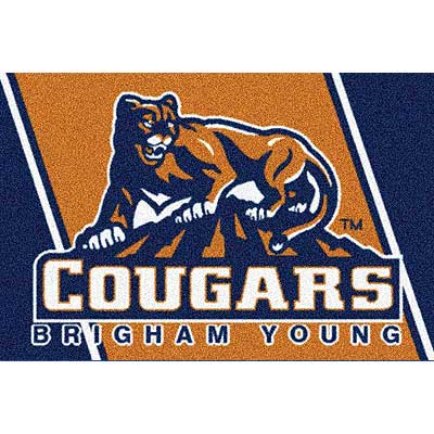 Milliken My Team College - Brigham Young University 5 x 8 Brigham Young University 533315/74385/201