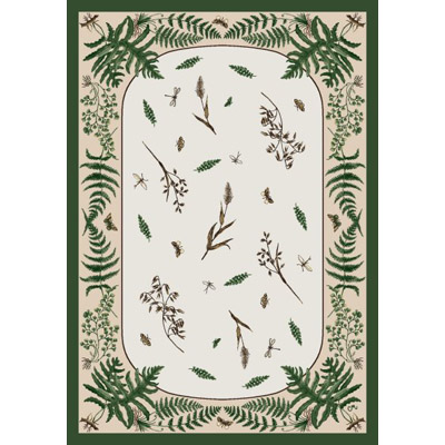 Milliken Woodland Fern 7484/217 2 x 8 Runner Outfield 380