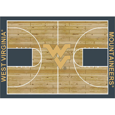 Milliken My Team College - West Virginia Mountaineers 11 x 13 West Virginia Mountaineers 533325/280/1470