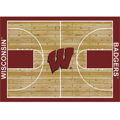 Milliken Wisconsin Badgers 11 x 13 Wisconsin Badgers 533325/280/1490