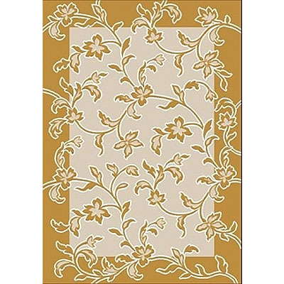 Milliken Fleuri 2 x 8 Light Topaz Antique 7602/217/2400