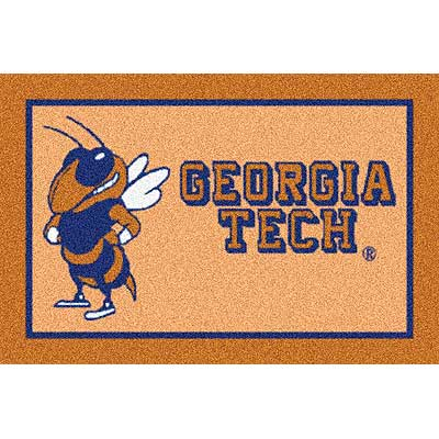 Milliken My Team College - Georgia Tech 5 x 8 Georgia Tech 533284/79303/201