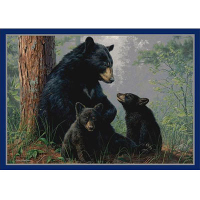 Milliken Hautman Collection 3 x 4 Bear Family 534714/234/37172