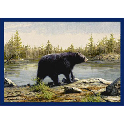 Milliken Hautman Collection 4 x 5 Black Bear 534714/200/37168