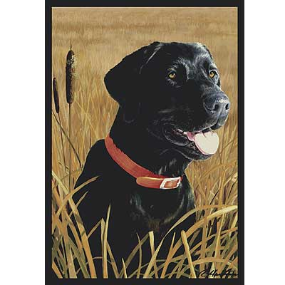 Milliken Hautman Collection 4 x 5 Black Lab 534714/200/2102
