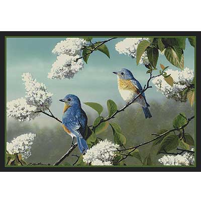 Milliken Hautman Collection 4 x 5 Blue Birds 534714/200/2228