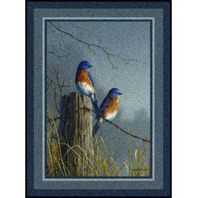 Milliken Hautman Collection 4 x 5 Blue Birds 534714/200/75059