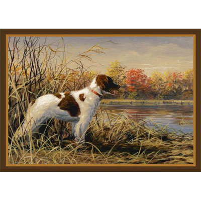 Milliken Hautman Collection 4 x 5 Brittany Spaniel 534714/200/37176