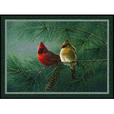 Milliken Hautman Collection 4 x 5 Cardinals Pine 534714/200/75061
