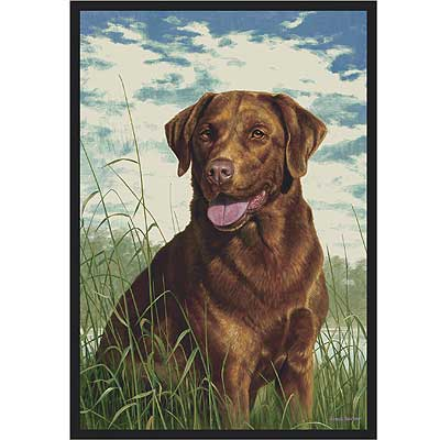 Milliken Hautman Collection 4 x 5 Chocolate Lab 534714/200/1170
